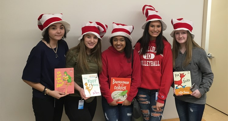 Dr. Seuss Day at Frederick Post!