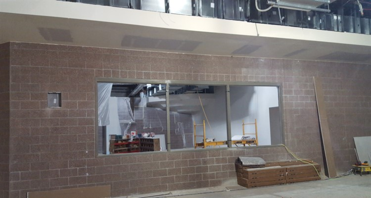 Library internal windows - April 2020